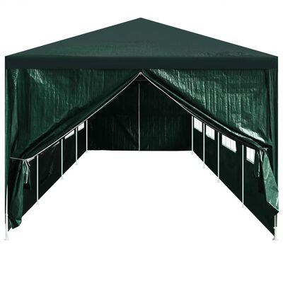 vidaXL Partyzelt-Türen 2 Stk. mit Reißverschluss Grün