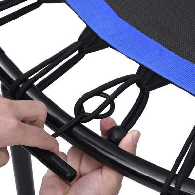 vidaXL Fitness Trampolin mit Griff und Sicherheitspolster 122 cm