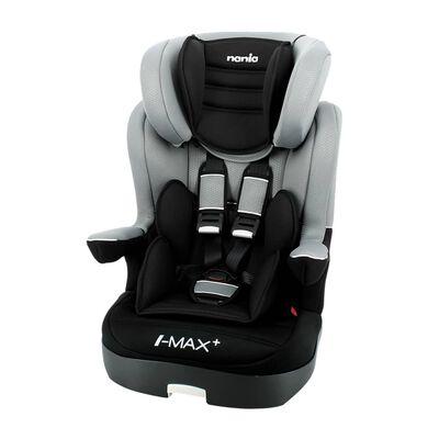Nania Kindersitz LUXE I-Max SP 1+2+3 Grau und Schwarz