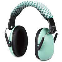 Alecto Gehörschutz für Babys und Kleinkinder BV-71 Grün und Schwarz