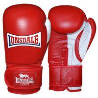 LONSDALE Sparring-Trainingshandschuhe Pro Safe Rot 14 Unzen