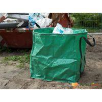 Nature Garten-Müllbeutel Grün Quadratisch 148 L