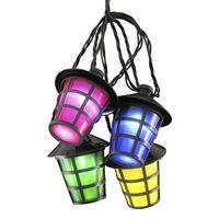KONSTSMIDE Laternen-Lichterketten-Set mit 20 Lampen Mehrfarbig