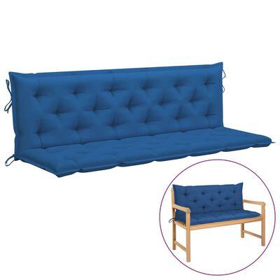 vidaXL Auflage für Hollywoodschaukel Blau 180 cm Stoff