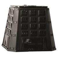 Nature Kompostbehälter Schwarz 400 L 6071480