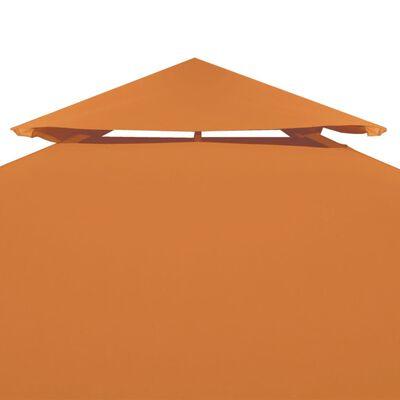 vidaXL Pavillon-Dachplane Ersatzdach 310 g/m² Terracotta-Rot 3×4 m