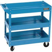 Draper Tools Werkzeugwagen 3 Etagen Blau