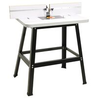 vidaXL Router Table Steel and MDF 81x61x88 cm