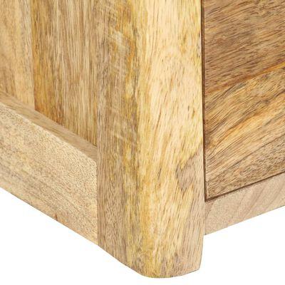 vidaXL Nachttisch 40 x 35 x 50 cm Massivholz Mango