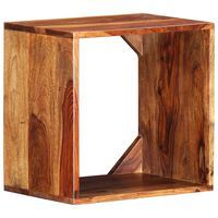 vidaXL Beistelltisch 40×30×40 cm Massivholz