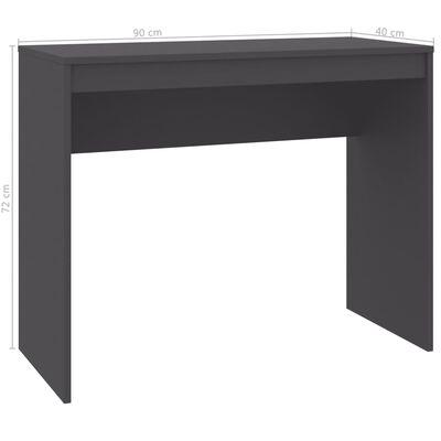 vidaXL Schreibtisch Grau 90×40×72 cm Spanplatte