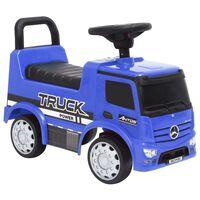 vidaXL Rutschauto Mercedes-Benz Blau
