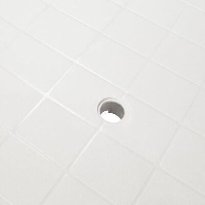 vidaXL Gartentisch Weiß 101 x 68 x 72 cm Kunststoff