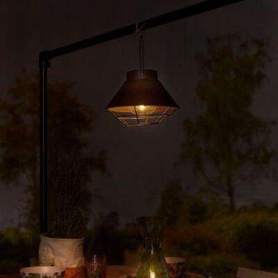 Luxform Solar-LED-Gartenleuchte Detroit