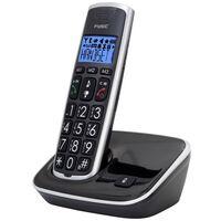 Fysic Senior DECT Telefon FX-6000 Schwarz und Silber
