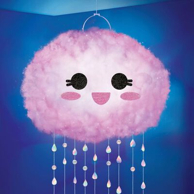 make it real DIY Schwebende Wolken-Lampe