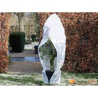 Nature Wintervlies mit Reißverschluss Weiß 70 g/m² 1,5×1,5×2 m