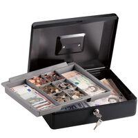 Master Lock CB-12ML Mittelgroße Geldkassette mit Münzeinsatz