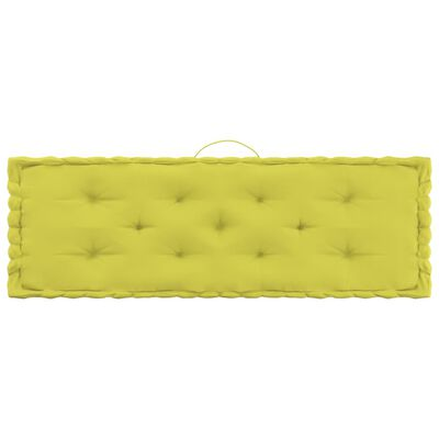 vidaXL Palettenkissen 4-tlg. Apfelgrün Baumwolle