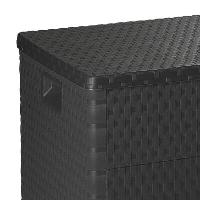 vidaXL Gartenbox Anthrazit 120×56×63 cm
