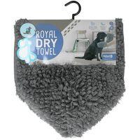 Doggy Dry Handtuch Grau