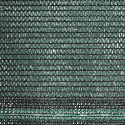 vidaXL Tennisblende HDPE 1x50 m Grün