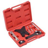 vidaXL 9-tlg. Motoreinstellwerkzeug-Set