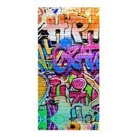 Good Morning Strandtuch GRAFFITY 75×150 cm Mehrfarbig