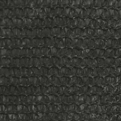 vidaXL Sonnensegel 160 g/m² Anthrazit 3/4x3 m HDPE