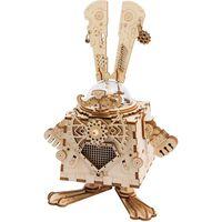 Robotime Spieluhr Modellbausatz Steampunk Bunny