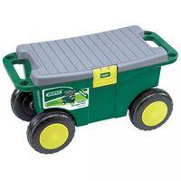 Draper Tools Werkzeugwagen und Sitz 56 x 27,2 x 30,4 cm Grün 60852