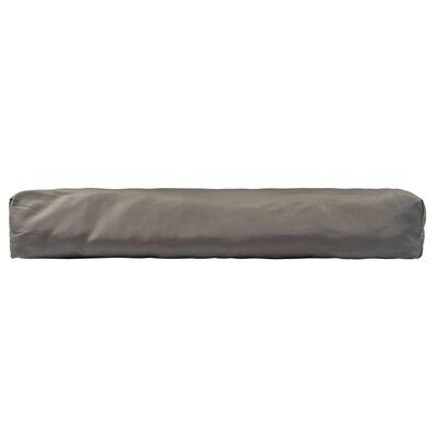 vidaXL Palettenkissen 3-tlg. Grau Polyester