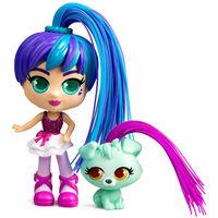 Silverlit Curli Girls Deluxe Spielzeug-Set Rosli and Koda Mehrfarbig