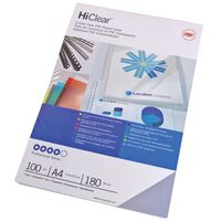 GBC Einbanddeckel-Set HiClear A4 150 Mikron