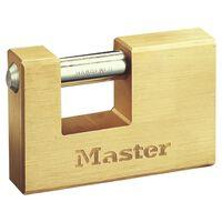 Master Lock Gepanzertes Vorhängeschloss Massivmessing 85 mm 608EURD
