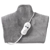 Trebs 2-in-1 Wärme- und Massagekissen 100 W Grau 99360