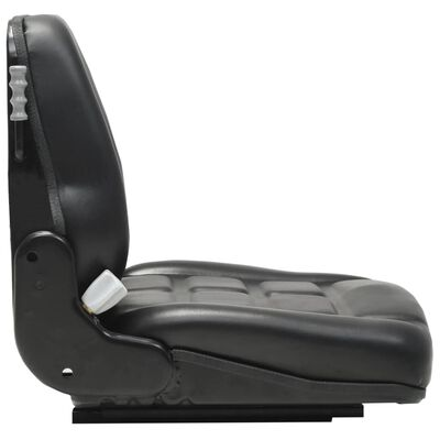 vidaXL Gabelstaplersitz Traktorsitz Federung Verstellbare Rückenlehne