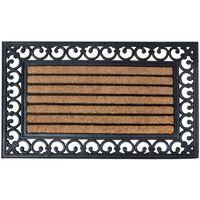 Esschert Design Fußmatte Gummi 75 x 45 cm RB108