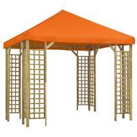 vidaXL Pavillon 3 x 3 m Orange