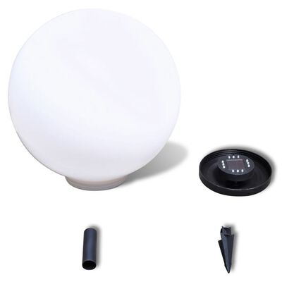 Außenlampe Solarkugel Kugellampe Solarlampe LED 1 tlg.