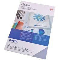 GBC Einbanddeckel-Set HiClear A4 240 Mikron