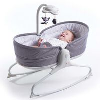Tiny Love 3-in-1 Babywippe Rocker Napper Grau
