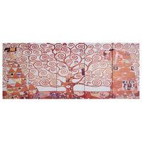 vidaXL Leinwandbild-Set Baum Gelb 200 x 80 cm