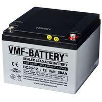 VMF AGM Deep Cycle Batterie 12 V 28 Ah DC28-12