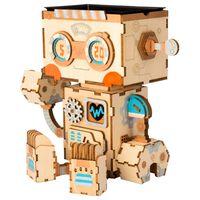 Robotime Blumentopf Bausatz Robot
