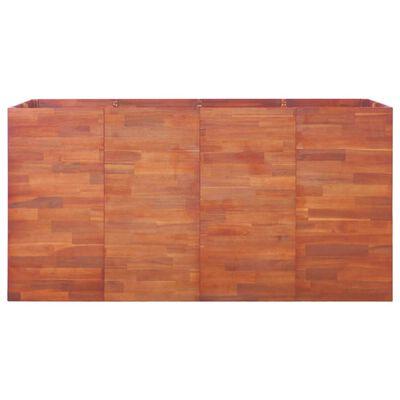 vidaXL Garten-Hochbeet Akazienholz 200x50x100 cm