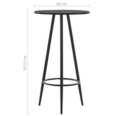 vidaXL 5-tlg. Bar-Set Kunstleder Weinrot