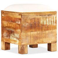 vidaXL Sitzbank mit Stauraum Recyclingholz Massiv 40 x 40 x 45 cm