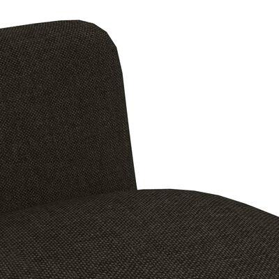 vidaXL Esszimmerstühle 4 Stk. Taupe Stoff