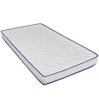 vidaXL Bett mit Memory-Schaum-Matratze Grün Samt 160 x 200 cm